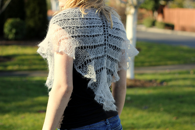 Summer's Twilight Shawl by Jessica Bolof