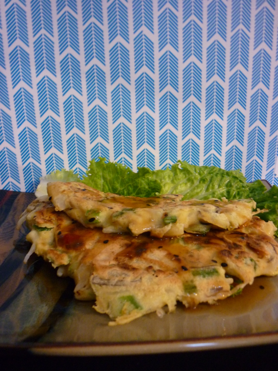 Savory Asian Pancakes
