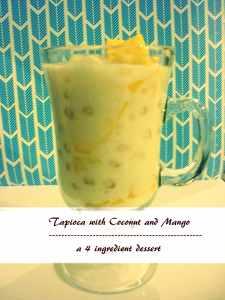 Tapioca w/ Coconut & Mango
