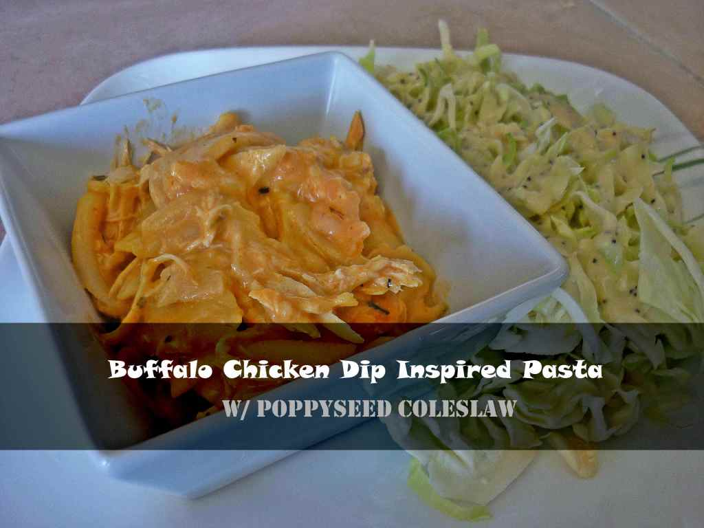 Buffalo Chicken Dip Pasta
