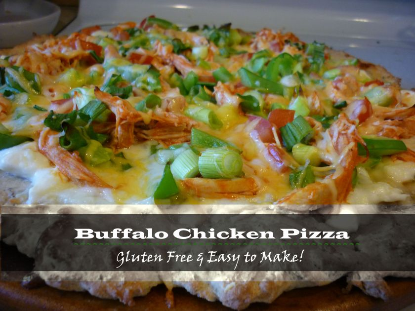 GF Buffalo Chicken Pizza