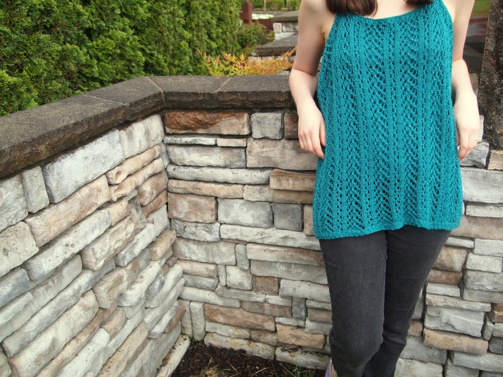 Effortless Lace Tank by Jessica Bolof
