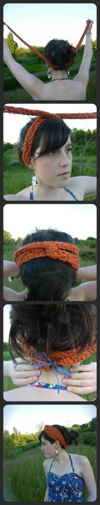 Twist Headband by Jessica Bolof