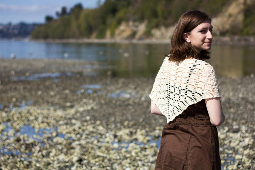 Turning Point Shawl by Jessica Bolof