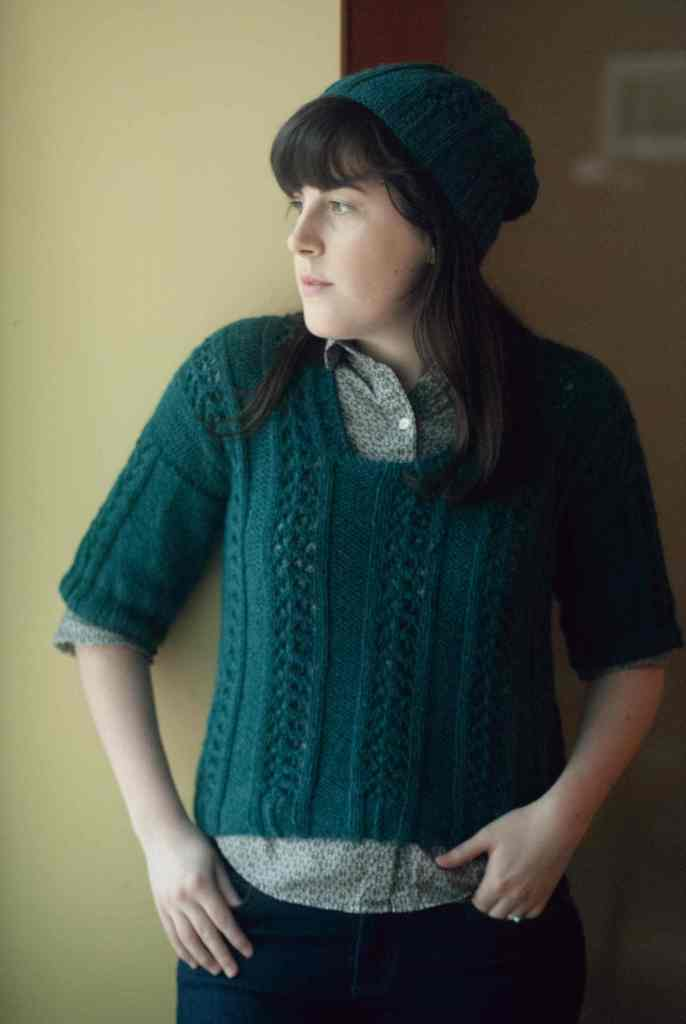 Charli Lace Pullover by Jessica Bolof