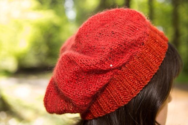 Amity Hat by Jessica Bolof - Photo by Matthew Richey