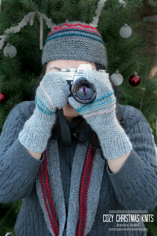 Cozy Christmas Knits by Jessica Bolof